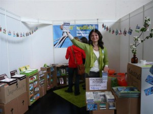Down to Earth Stand am Kirchentag