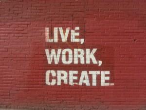 Live,work, create