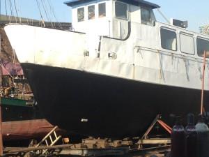 Schiff im April 2013.