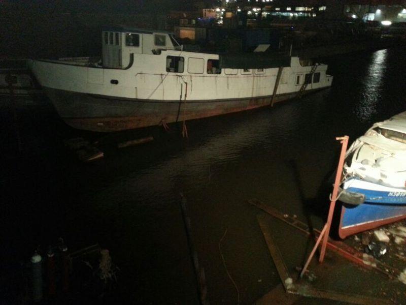 Schiffsgeschichte Hochwasser In Hamburg 2013 Kerstin Hack
