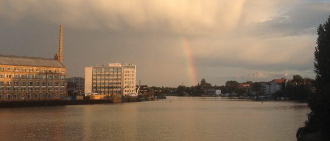 Regenbogen, Berlin