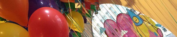 Luftballons und Weitblick