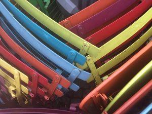 Stühle in Antwerpen
